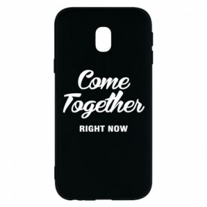 Etui na Samsung J3 2017 Come together right now