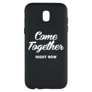Etui na Samsung J5 2017 Come together right now