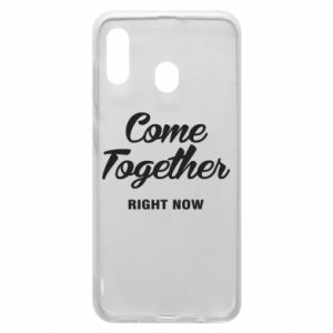 Etui na Samsung A30 Come together right now