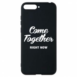 Etui na Huawei Y6 2018 Come together right now