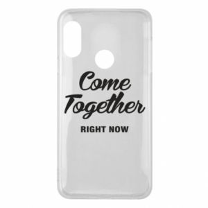 Etui na Mi A2 Lite Come together right now