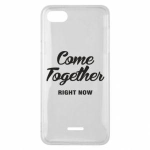 Etui na Xiaomi Redmi 6A Come together right now