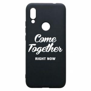 Etui na Xiaomi Redmi 7 Come together right now