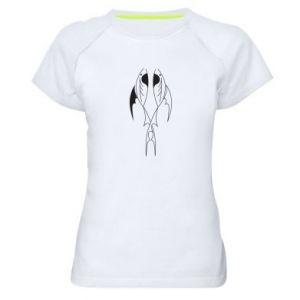 Women's sports t-shirt Constellation Pisces - PrintSalon