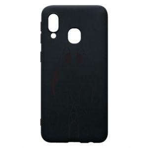 Phone case for Samsung A40 Constellation Pisces - PrintSalon