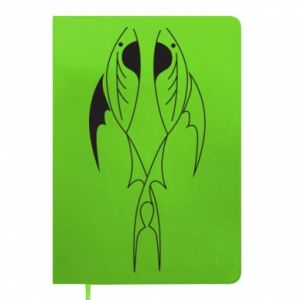 Notepad Constellation Pisces