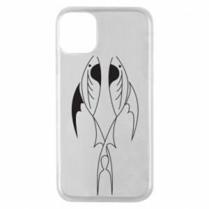 Phone case for iPhone 11 Pro Constellation Pisces - PrintSalon