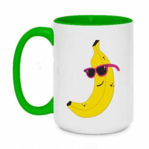 Kubek dwukolorowy 450ml Cool banana