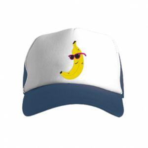 Czapka trucker dziecięca Cool banana