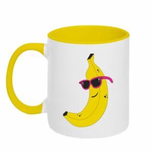 Two-toned mug Cool banana