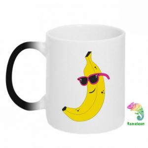 Kubek-kameleon Cool banana