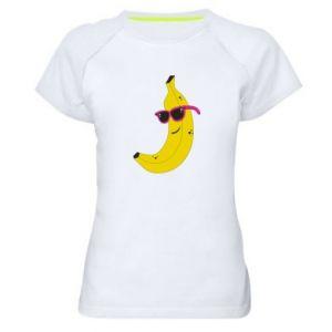 Koszulka sportowa damska Cool banana