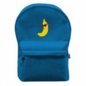Plecak z przednią kieszenią Cool banana