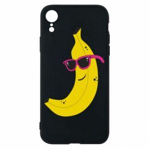 Etui na iPhone XR Cool banana