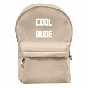 Plecak z przednią kieszenią Cool dude