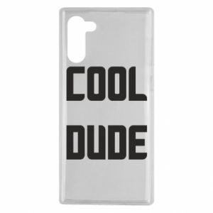 Etui na Samsung Note 10 Cool dude