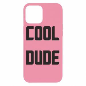 Etui na iPhone 12 Pro Max Cool dude