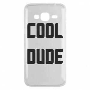 Etui na Samsung J3 2016 Cool dude