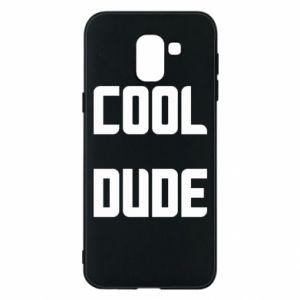 Etui na Samsung J6 Cool dude