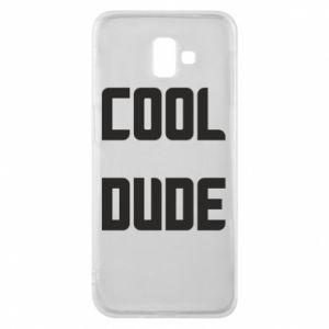 Etui na Samsung J6 Plus 2018 Cool dude