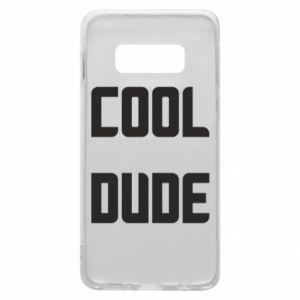 Etui na Samsung S10e Cool dude