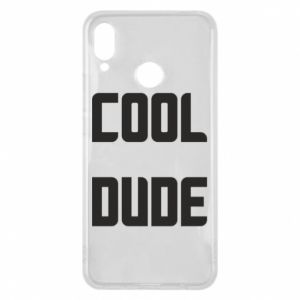 Etui na Huawei P Smart Plus Cool dude