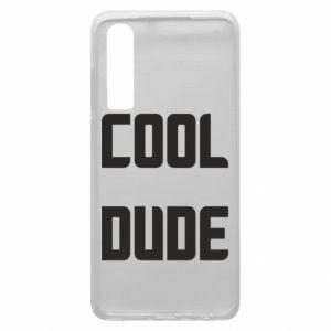 Etui na Huawei P30 Cool dude