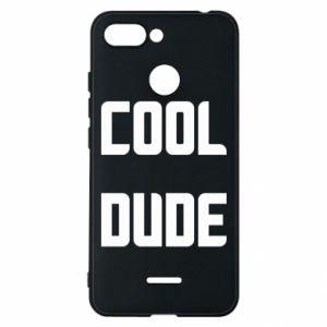 Etui na Xiaomi Redmi 6 Cool dude