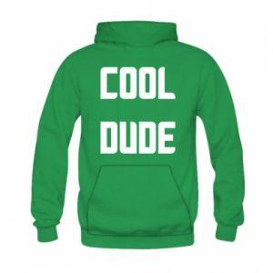 Bluza z kapturem dziecięca Cool dude