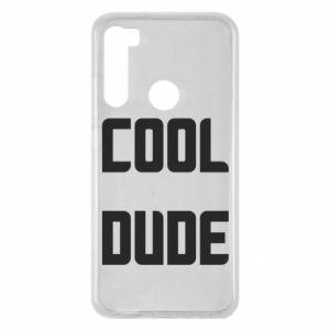 Etui na Xiaomi Redmi Note 8 Cool dude