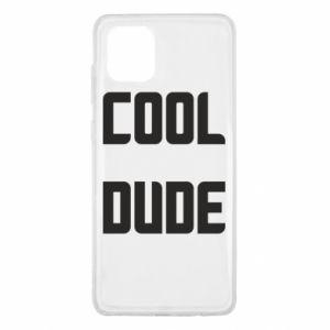 Etui na Samsung Note 10 Lite Cool dude
