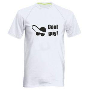 Męska koszulka sportowa Cool guy