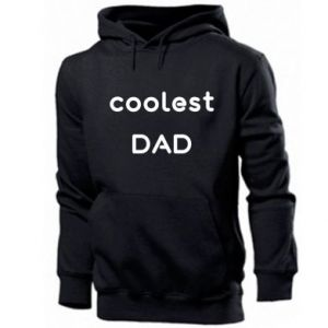 Bluza z kapturem męska Coolest dad