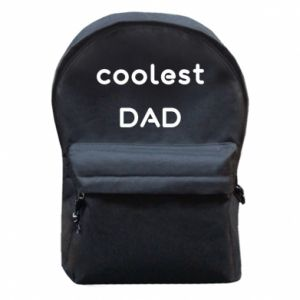 Backpack with front pocket Coolest dad