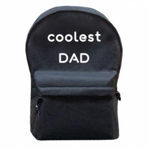 Plecak z przednią kieszenią Coolest dad
