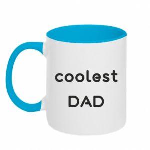 Kubek dwukolorowy Coolest dad