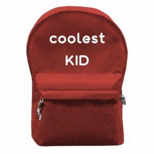 Plecak z przednią kieszenią Coolest kid