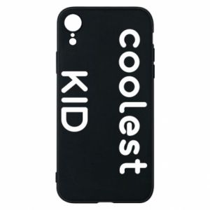 Etui na iPhone XR Coolest kid