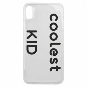 Etui na iPhone Xs Max Coolest kid
