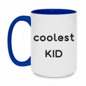 Two-toned mug 450ml Coolest kid