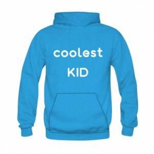 Bluza z kapturem dziecięca Coolest kid