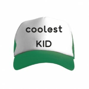 Czapka trucker dziecięca Coolest kid