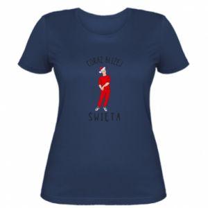 Women's t-shirt Getting closer to Christmas
