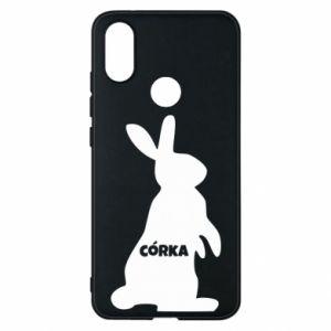 Phone case for Xiaomi Mi A2 Daughter - Bunny - PrintSalon