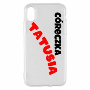Phone case for iPhone X/Xs Daddy's daughter