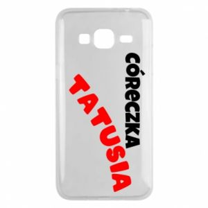 Phone case for Samsung J3 2016 Daddy's daughter