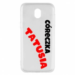 Phone case for Samsung J5 2017 Daddy's daughter