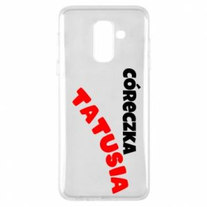 Phone case for Samsung A6+ 2018 Daddy's daughter