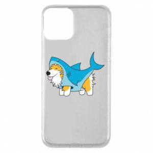 Etui na iPhone 11 Corgi Disguise as Shark
