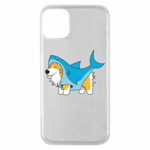 Etui na iPhone 11 Pro Corgi Disguise as Shark